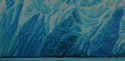 painting titled Arctic Terns, Sawyer Glacier, Alaska