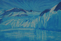 painting titled Surprise Inlet, Prince William Sound, Alaska