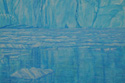 painting titled Floating Ice, Prince William Sound, Alaska